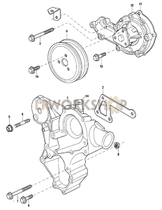 Water Pump Part Diagram