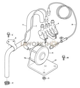 Brake System Part Diagram