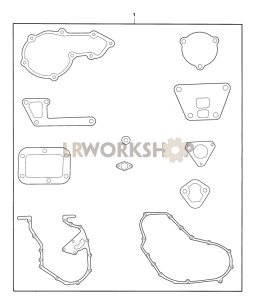 Gasket Set, Cylinder Block Part Diagram