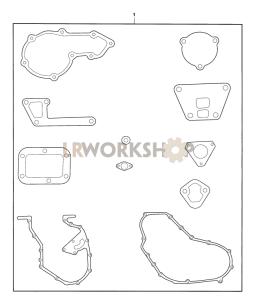 Gasket Set, Cylinder Block Part Diagram