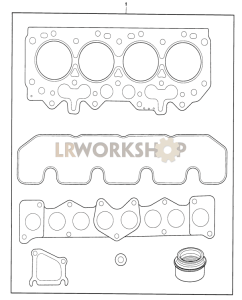 Gasket Set, Cylinder Head Part Diagram
