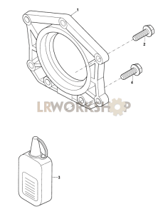 Crankshaft Rear Oil Seal Part Diagram