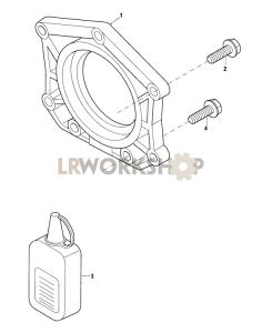 Crankshaft Rear Oil Seal Part Diagram