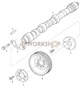 Camshaft Part Diagram