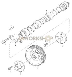 Camshaft Part Diagram
