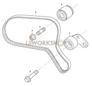 Timing Belt Part Diagram