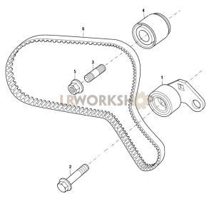 Timing Belt Part Diagram