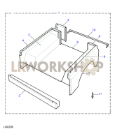 Rear Body Lower - Less Bulkhead Part Diagram