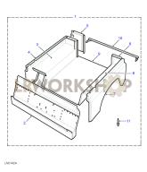 Rear Body Lower - With Bulkhead Part Diagram