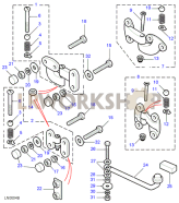 Rear End Door Hinges Part Diagram