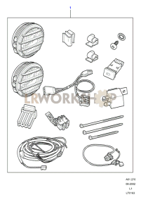 Driving Lamps - Accessory Part Diagram