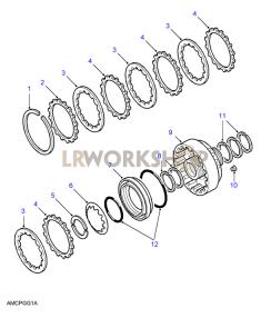 Brake F Part Diagram