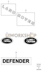 Badges And Decals Part Diagram