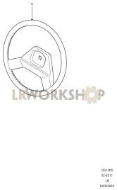 Steering Wheel Part Diagram