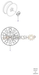 Wheels Part Diagram