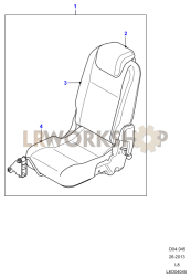 Loadspace Seats Part Diagram