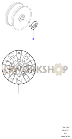 Wheels Part Diagram