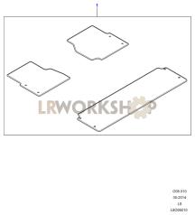 Floor Mats Part Diagram