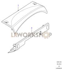 Cowl Instrument Binnacle Part Diagram