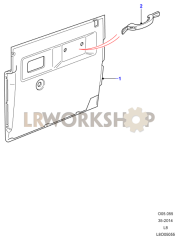 Front Door Casing Part Diagram