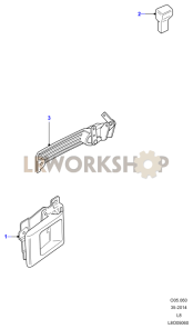 Front Door Latch Mechanism Part Diagram