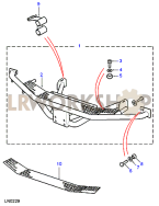 Rear Step Assembly - Fixed Part Diagram