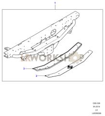Rear Towing Step Part Diagram