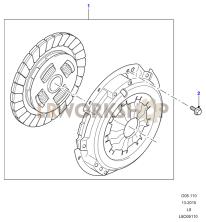 Clutch Part Diagram