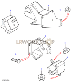 Engine Mounts Part Diagram
