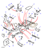 Chassis Frame Assembly - 130 Part Diagram