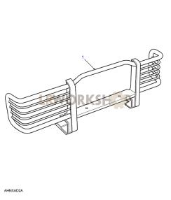 Nudge/Bull Bars Part Diagram