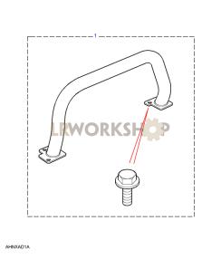 Nudge/A Bars Part Diagram