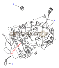 200Tdi Engine Harness Part Diagram