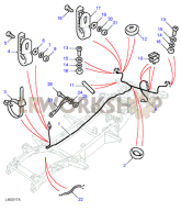 Chassis Loom Harness Part Diagram