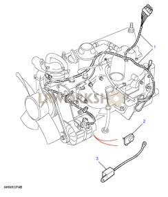 300Tdi Engine Harness Part Diagram