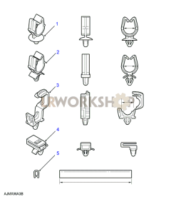 Harness, Snap & Protection Clips Part Diagram