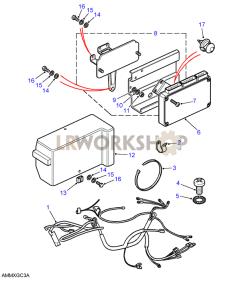 Engine ECU Part Diagram