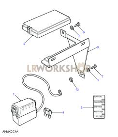 Fuse Box Diagrams - Find Land Rover parts at LR Workshop