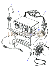 Radio Cassette Part Diagram