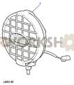 Auxiliary Lamp Part Diagram