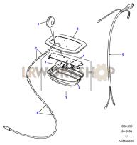 Interior Lamps Part Diagram