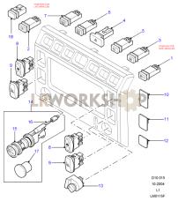 Facia Assembly Part Diagram