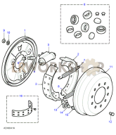 Rear Drum Brakes Part Diagram