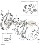 Rear Drum Brakes Part Diagram