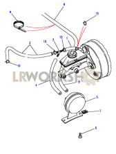 Vacuum Hoses Part Diagram