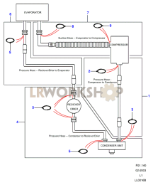 Hose Layout Part Diagram