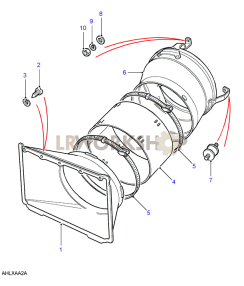 Fan Cowl Part Diagram