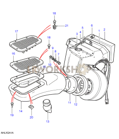 Heater Assembly Part Diagram