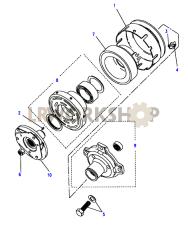 Air Conditioning Pump Part Diagram