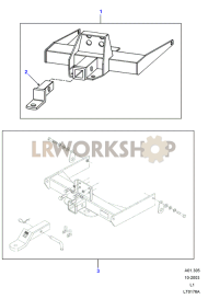 Towbar Part Diagram